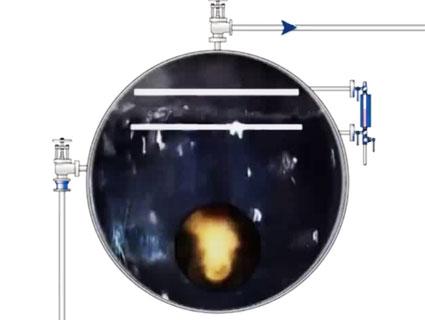 کله گاوی دیگ بخار یا لول کنترل دیگ بخار