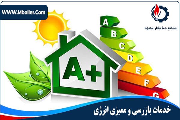 خدمات بازرسی و ممیزی انرژی