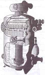 طرح گرم كننده سيني دار به منظور هوازدائي اوليه و ثانويه