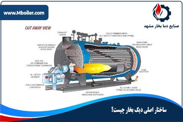ساختار اصلی دیگ بخار