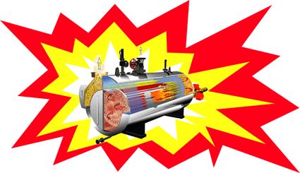 انفجار دیگ بخار - تحقیق در مورد ترکیدن دیگ بخار