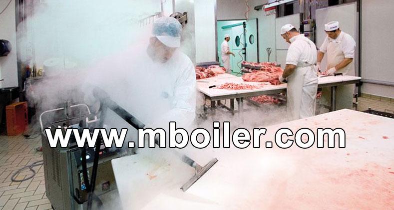 کاربرد بخار در صنایع غذایی - استریلیزه نمودن