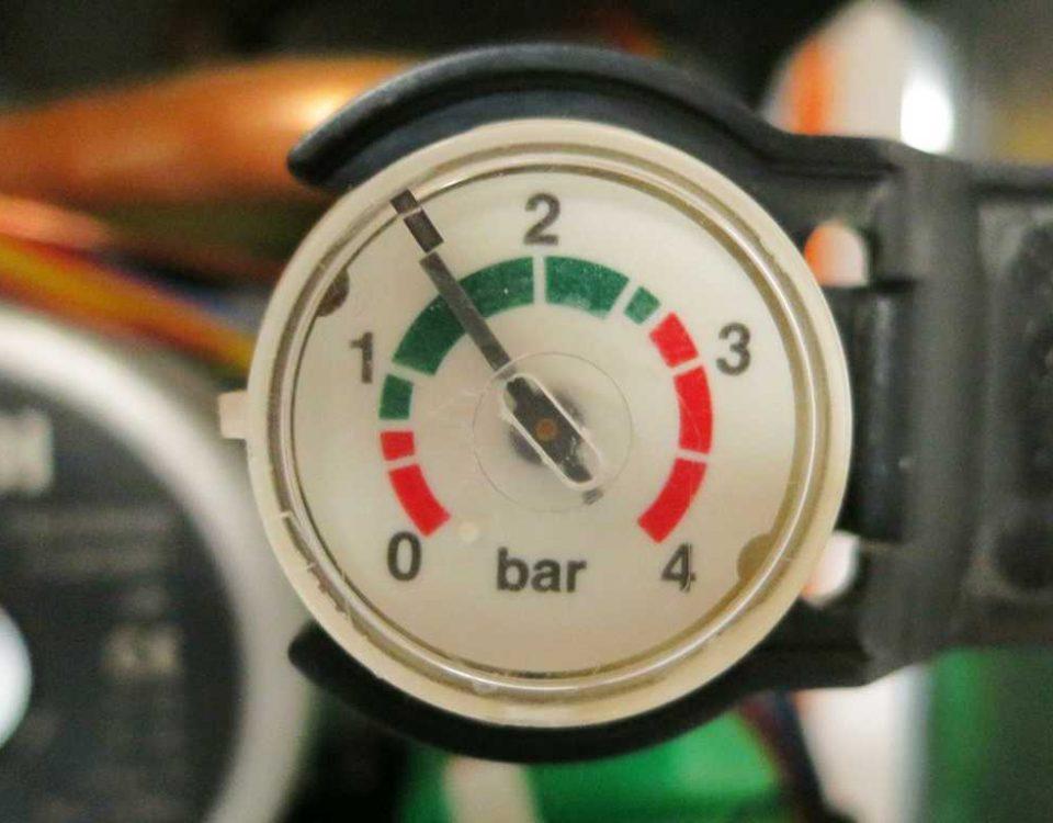 تجهیزات کنترل فشار در دیگ بخار