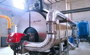 steam boiler chimney